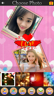 Choose Picture Grid Collage - screenshot