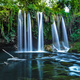 Duden Waterfall by Arif Sarıyıldız - Landscapes Travel ( duden waterfall, travel photography, turkey, antalya, long exposure )