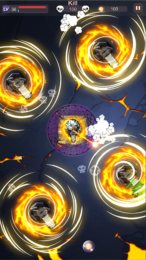 Don't Sleep :  Line Defense Game Screenshot 4
