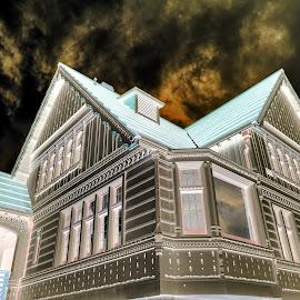 Weyerhaeuser Building  by Todd Reynolds - Digital Art Places