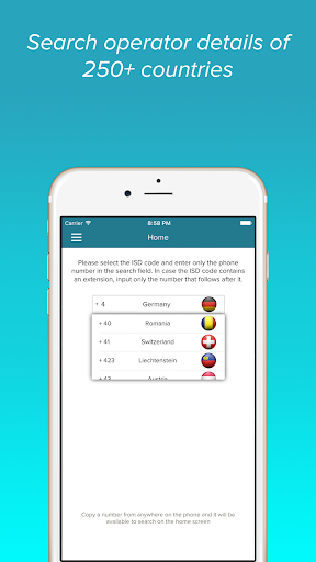 Mobile Number Tracker Pro - screenshot