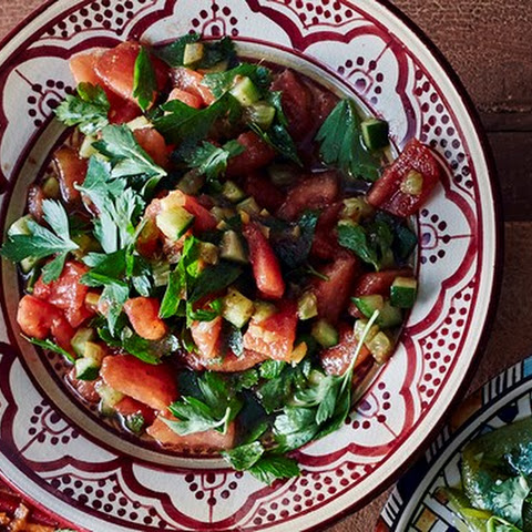 Tomato And Preserved Lemon Salad