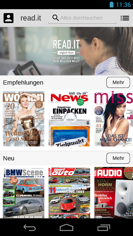 read.it - Einfach lesen Screenshot 0