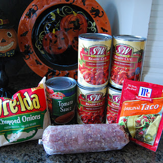Trick or Treat – Taco Soup