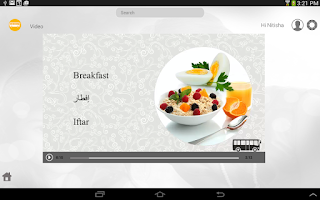 Screenshot of Learn Arabic via Videos