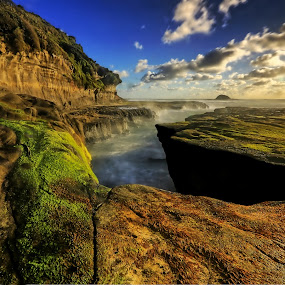 Muriwai Beach by Jomy Jose - Landscapes Beaches ( muriwai beach, auckland, muriwai, new zealands, beach, waitakere )