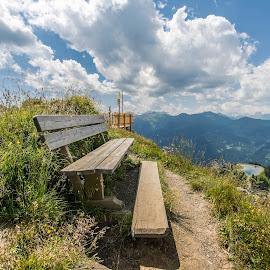 Stay still  by Linda Brueckmann - Landscapes Mountains & Hills