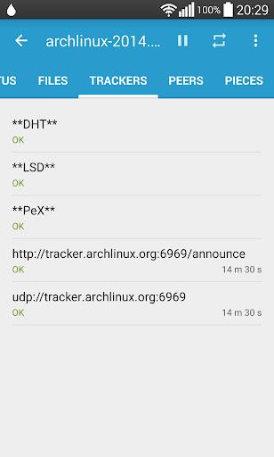 Flud - Torrent Downloader screenshot 6