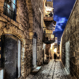 JAFFA by Dong Leoj - City,  Street & Park  Street Scenes ( street&park, neighborhoods, city )