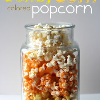 Colored Popcorn Recipes