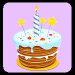 Birthday Party photo Stickers Icon
