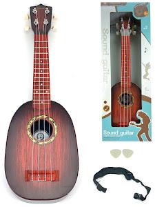 """Набор серии """"Для творчества"""", гитара Укулеле, 58см, коричневый"""