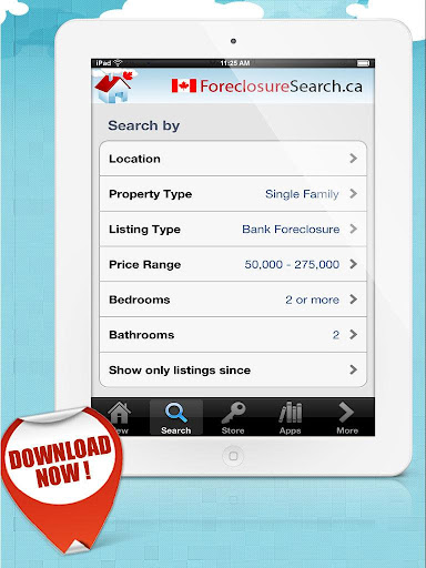 Foreclosure Listing MLS Canada - screenshot