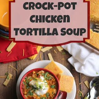 Crock Pot Chicken Tortilla Soup Rotel Recipes