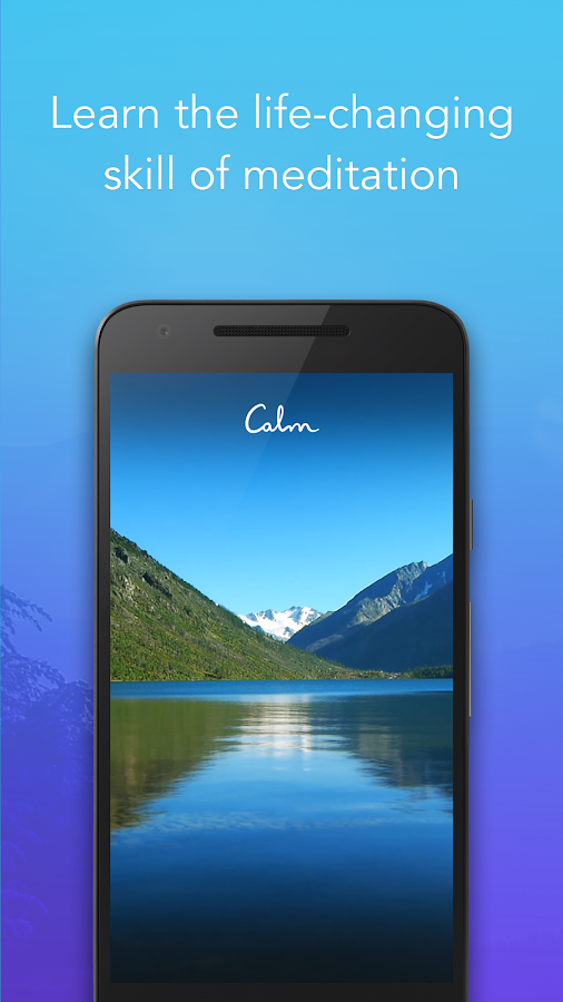 Calm - Meditate, Sleep, Relax Screenshot 0