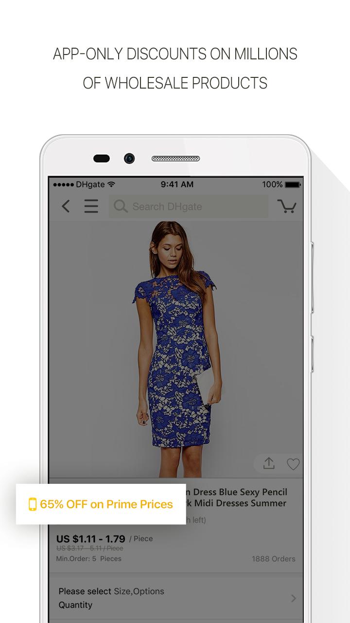 DHgate-Online Wholesale Stores Screenshot 2