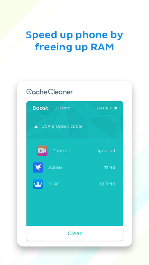 Boost Cache Cleaner - 1Tap Boost Clean Junk Files Screenshot 4