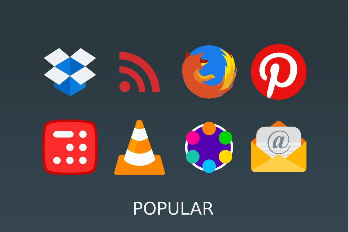 Pure Icon Pack Screenshot 15