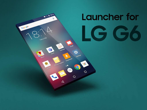 Launcher for LG G6 screenshot 3