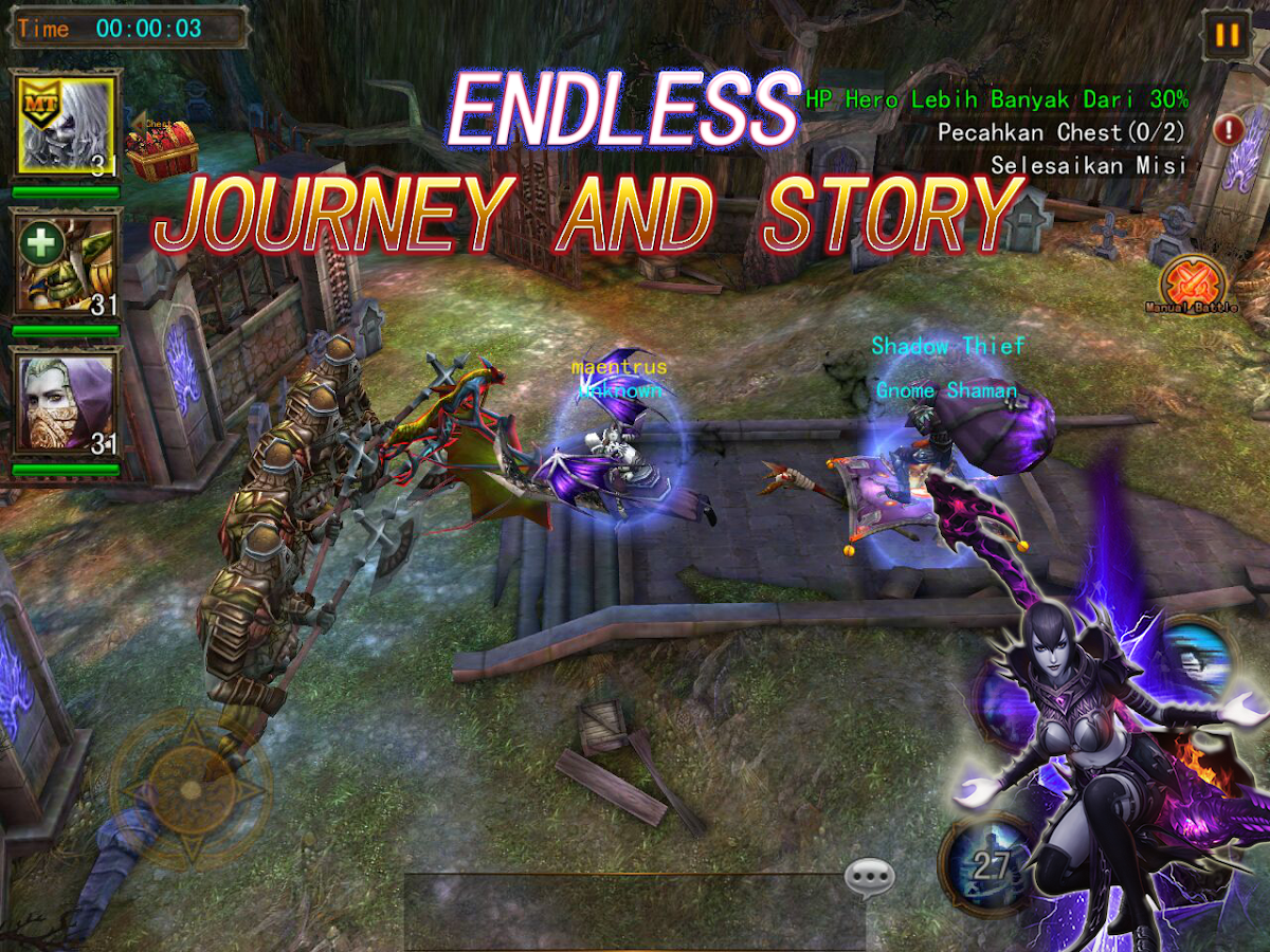 The Exorcists: 3D Action RPG Screenshot 17