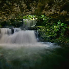 Underground beauty by Nik Hall - Landscapes Waterscapes ( waterfalls, waterscapes, waterscape, longexposure, underground, waterfall, long exposure, water, flow, ireland )