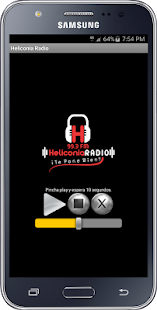 Heliconia Radio - screenshot