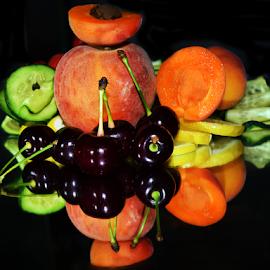 fruits with vegetables by LADOCKi Elvira - Food & Drink Fruits & Vegetables ( fruits, vegetables )