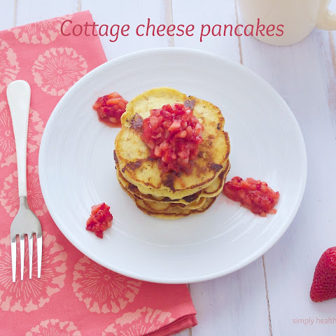 Cottage Cheese Pancakes {Gluten Free}