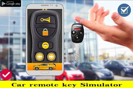 Key Car Remote Prank - screenshot