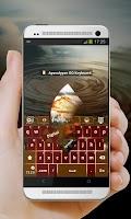 Screenshot of Apocalypse GO Keyboard