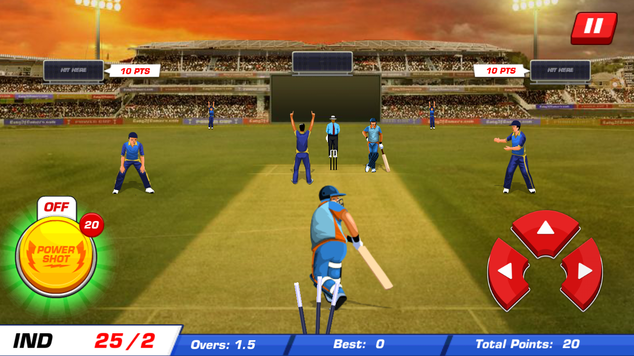 Power Cricket T20 Cup 2016 Screenshot 7