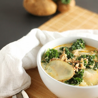 Sausage, Potato and Kale Soup aka Zuppa Toscana