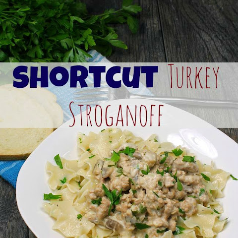 Shortcut Turkey Stroganoff