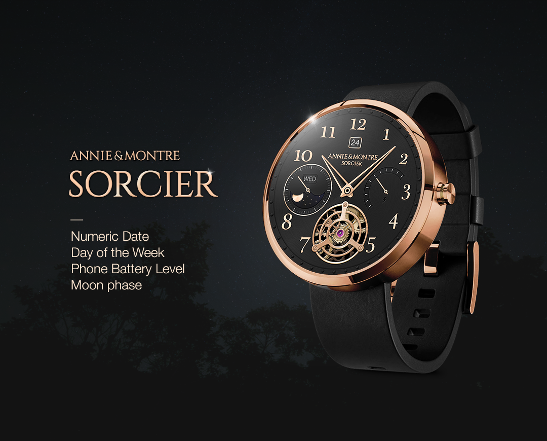 Sorcier watchface by Annie&Mon Screenshot 1