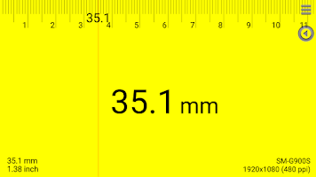 Screenshot of Smart Ruler