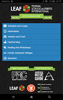 Screenshot of LEAF Festival 2015
