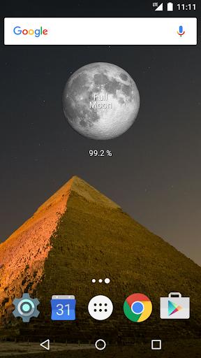 Simple Moon Phase Calendar - screenshot