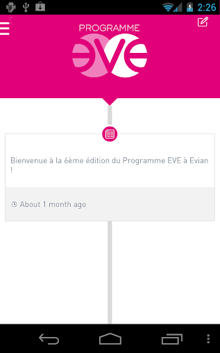 Eve Program APK