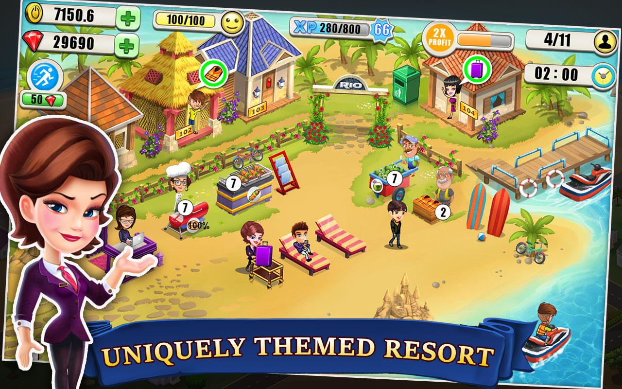 Resort Tycoon Screenshot 1