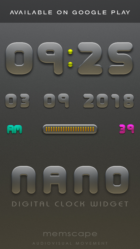 NANO Next Launcher 3D Theme Screenshot 5