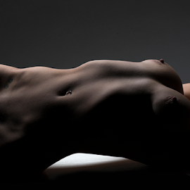 BodyScape by Peter Driessel - Nudes & Boudoir Artistic Nude ( art nude, implied nude, nude, art, bodyscape )