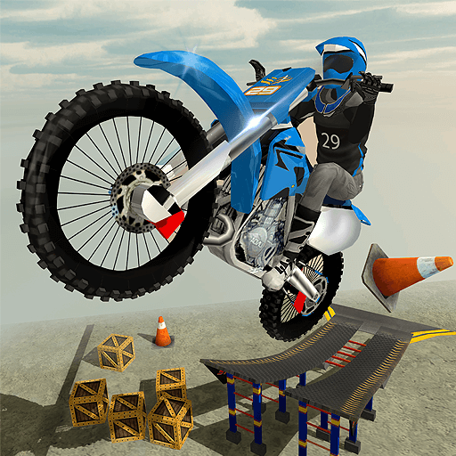 Rooftop Bike Rider Stunt Game (game)