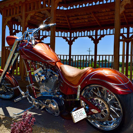 Let's Ride! by Lorna Littrell - Transportation Motorcycles ( custom chopper, motorcycle, chopper )