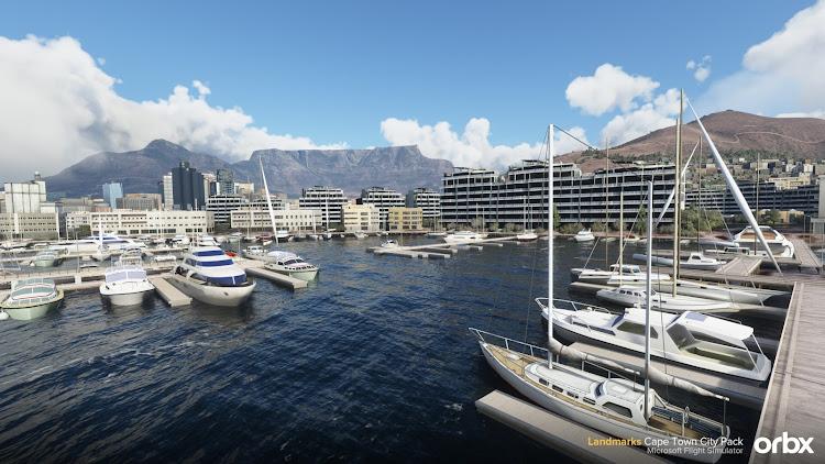 [Microsoft Flight Simulator]Flight simulator fans worldwide can now get high on Cape Town
