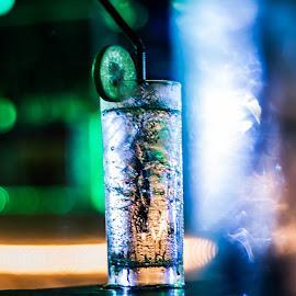 Still Life by Shikin Shafie - Food & Drink Alcohol & Drinks ( #foods&drinks #nightphotography #penang #nikon #travel )