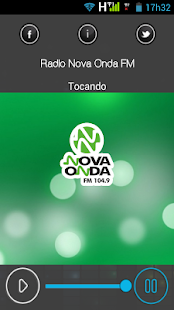 Rádio Nova Onda FM - screenshot