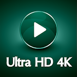 4K HD Video Player Icon