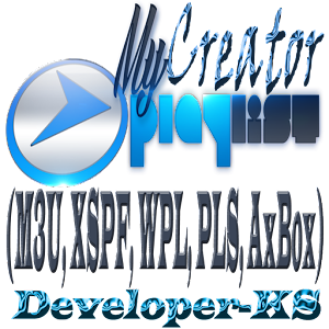 Creator M3U XSPF WPL PLS AxBox For PC