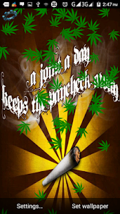 Weed Rasta Wallpaper - screenshot