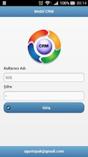MobilCRM - screenshot